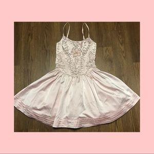 Betsey Johnson Silk party corset dress  (2)